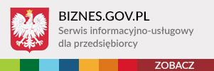 biznes.gov.pl Serwis informacyjno-usługowy dla przedsiębiorcy