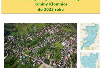 Lokalny Program Rewitalizacji Gminy Kłomnice