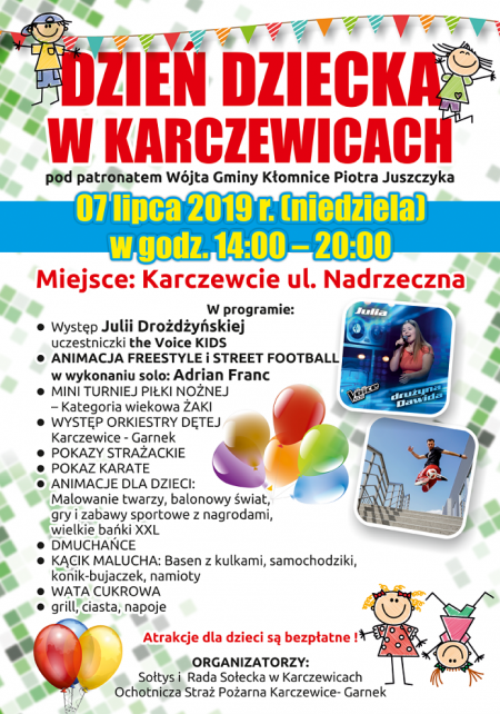 Dzień Dziecka w Karczewicach
