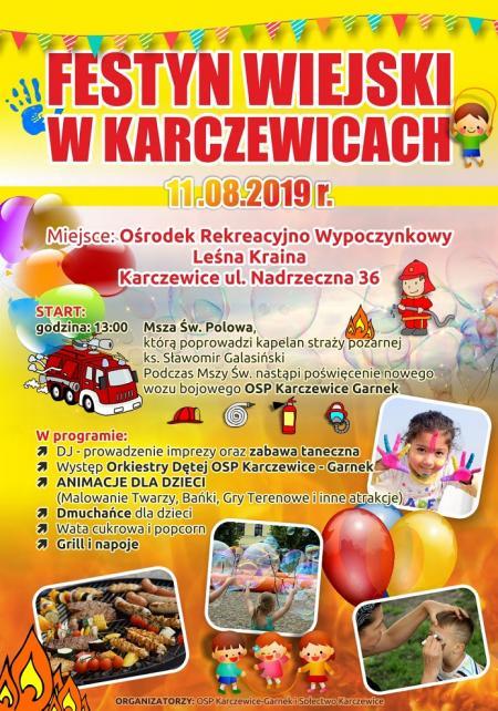 Festyn Wiejski w Karczewicach