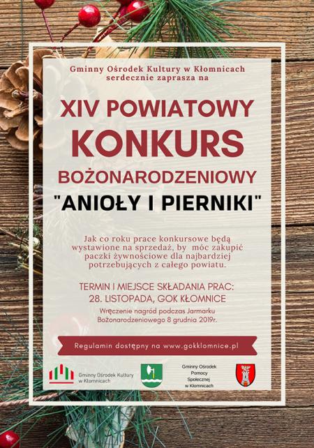 XIV Powiatowy Konkurs Anioły i Pierniki