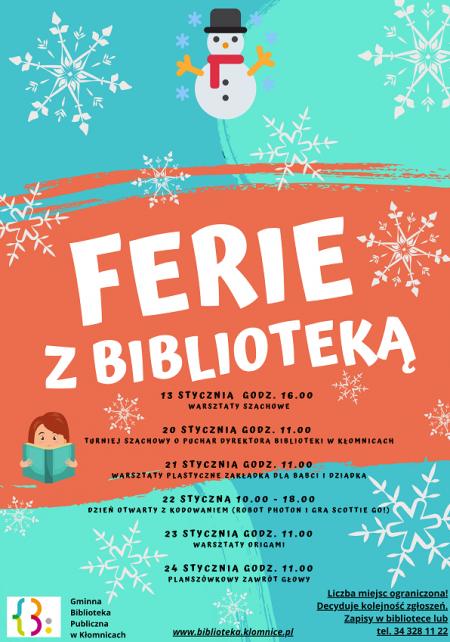 Ferie z Biblioteką
