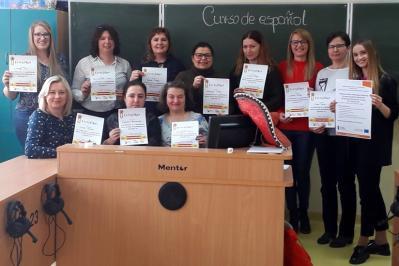 Nauczyciele SP w Kłomnicach mówią w języku hiszpańskim!