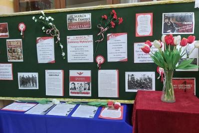 """Akcja MEN """"Szkoła Pamięta"""" Obchody Narodowego Dnia Pamięci Żołnierzy Wyklętych"""