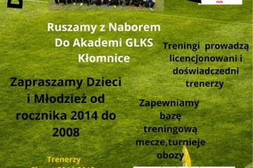 Akademia GLKS ogłasza nabór